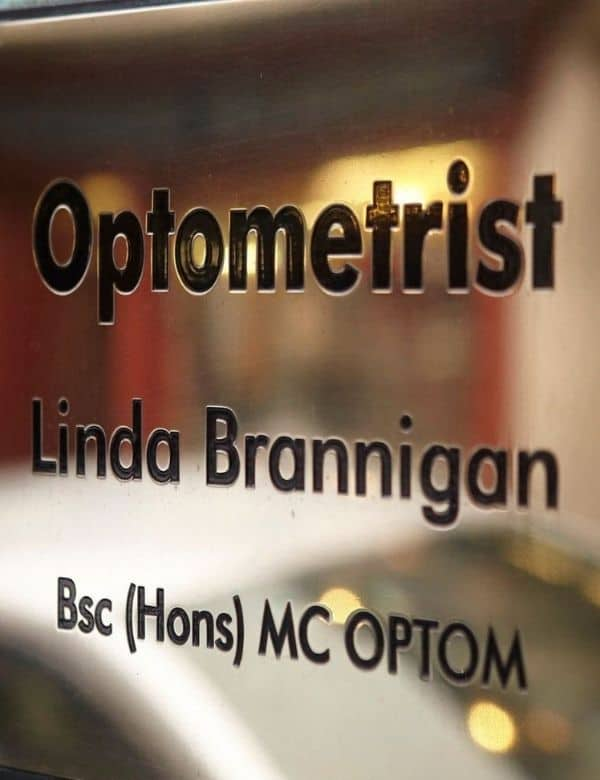 Eye Candy Opticians Optometrist Plaque