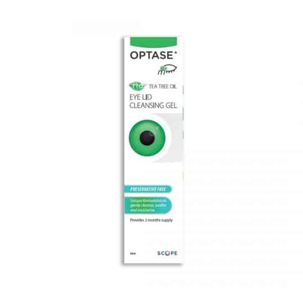 Optase Eyelid Cleansing Gel